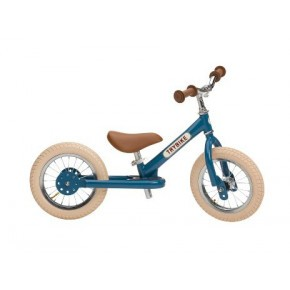 Trybike, balancecykel, 2 hjul - blå