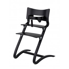 Leander højstol inkl bøjle - sort