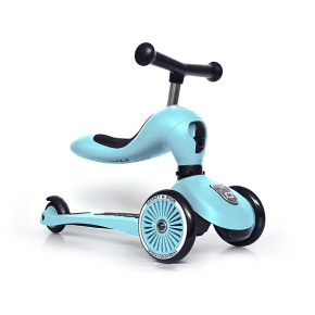 Scoot and Ride Highwaykick 1 løbecykel/løbehjul - blueberry