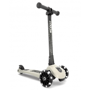 Scoot and Ride Highwaykick 3 Led løbehjul - ash