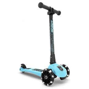 Scoot and Ride Highwaykick 3 Led løbehjul - blueberry