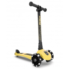 Scoot and Ride Highwaykick 3 Led løbehjul - lemon
