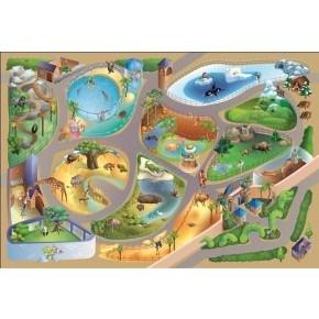 HOK Tæppe Latex 100X150 - Zoo