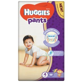 Huggies Pants - Str. 4, 9-14 Kg.