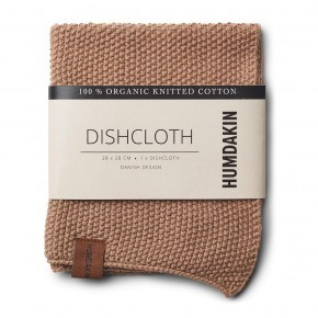 HUMDAKIN Knitted dishcloth - Latte