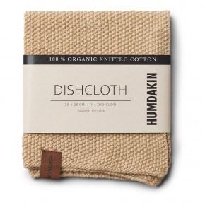 HUMDAKIN Knitted dishcloth - Sand