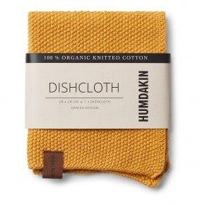 HUMDAKIN Knitted dishcloth - Yellow Fall