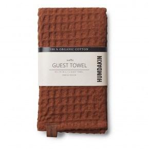 HUMDAKIN Waffle Towel - Dark Brown