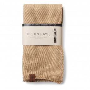 HUMDAKIN Knitted Tea Towel - Sand