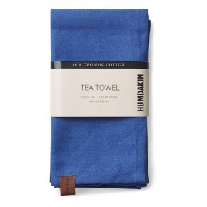 HUMDAKIN Organic Tea Towels, 2-pack - Blue Cloud