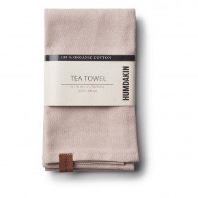 HUMDAKIN Organic Tea Towels, 2-pack - Latte