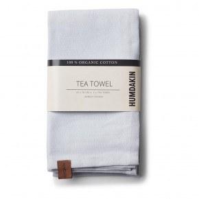 HUMDAKIN Organic Tea Towels, 2-pack - Purple Grey