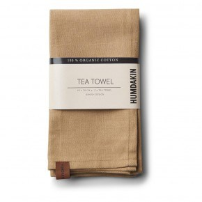 HUMDAKIN Organic Tea Towels, 2-pack - Wood