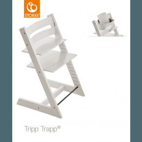 Tripp Trapp Højstol + babysæt - Hvid