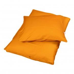 Filibabba babysengetøj sateen 70x100cm - golden mustard