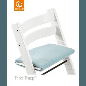Tripp Trapp Junior Cushion - Jade Twill Tilbehør til højstol