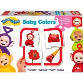Teletubbies Baby Farver Puslespil - Educa