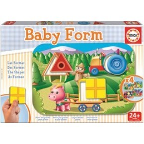 Educa - Baby Form (4 puslespil)