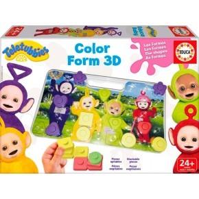 Teletubbies Baby 3D Farver Puslespil - Educa