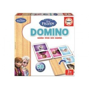 Educa - Frozen Domino spil