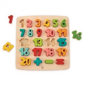 HAPE Puslespil - Chunky Number