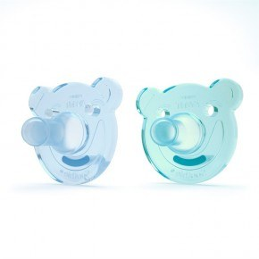 Philips AVENT Soothie Shapes - Green/Blue