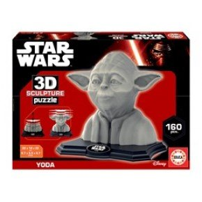 Educa - 3D sculpture puzzle Yoda (100 pcs)