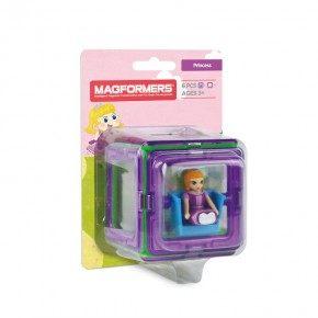 Magformers Figure Plus Princess sæt - 6 dele