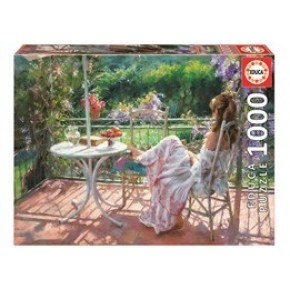Educa - Among Wisterias, Vincente Romero (1000 pcs)