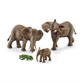 Schleich - Afrikansk elefant familie