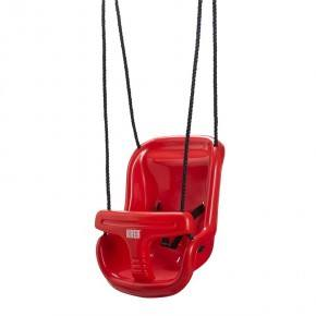 KREA Gynge med høj ryg, rød.