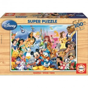 Educa - The Wonderful World of Disney (100 pcs)