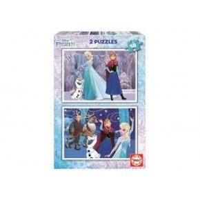 Educa - Frozen (2 x 48 pcs)