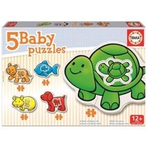 Educa - 5 baby puslespil