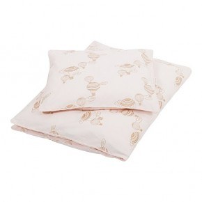FILIBABBA Bed Linen Baby, Sengetøj - Light Rose