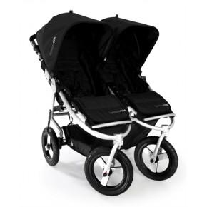 Bumbleride Indie Twin Tvillingeklapvogn Demo Model + Lift + Kørepose - Jet Black