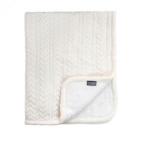 Vinter & Bloom Babytæppe - Hvid