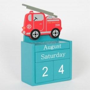 Sass & Belle træ kalender - Brandbil