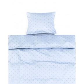 Smallstuff Juniorsengetøj - Light blue starut