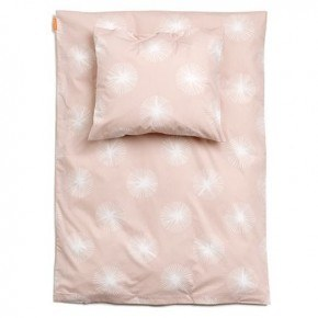 Linea junior sengetøj 100 X 140cm + 40X45 - soft pink