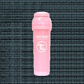 Twistshake Anti-kolik sutteflaske 330ml - Pastel Pink