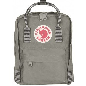 Fjällräven Mini Kånken Rygsæk - Fog-Striped