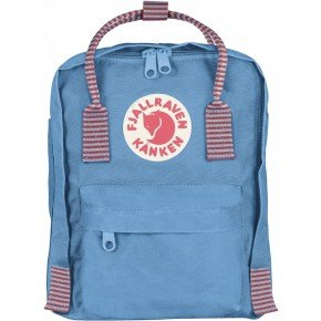 Fjällräven Mini Kånken Rygsæk - Air Blue-Striped