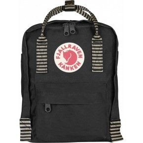 Fjällräven Mini Kånken Rygsæk - Black-Striped