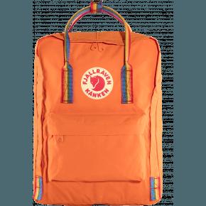 Fjällräven Kånken Rainbow rygsæk - Burnt Orange/Rainbow