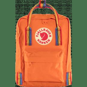 Fjällräven Kånken Rainbow Mini rygsæk - Burnt Orange/Rainbow