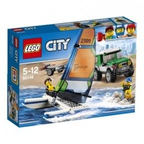 LEGO - Firhjulstrækker med katamaran Klodser