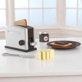 Kidkraft Toaster sæt - Espresso