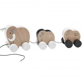 Kids Concept Mammut familie, trækdyr