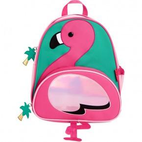 Skip Hop Zoo Flamingo rygsæk +3 år - lyserød/turkis